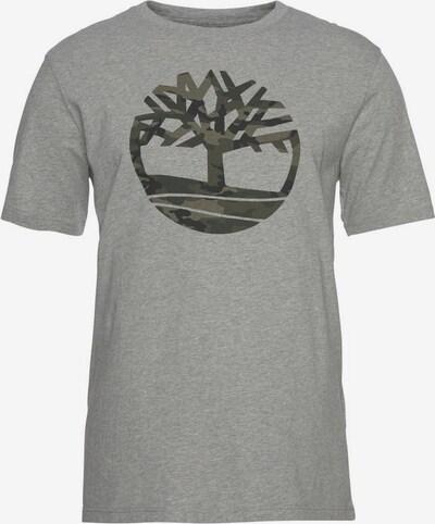 TIMBERLAND Shirt 'Kennebec' in mokka / graumeliert, Produktansicht