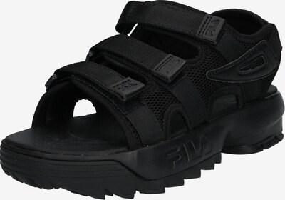 FILA Slipper 'Disruptor Sandal wmn' in schwarz, Produktansicht