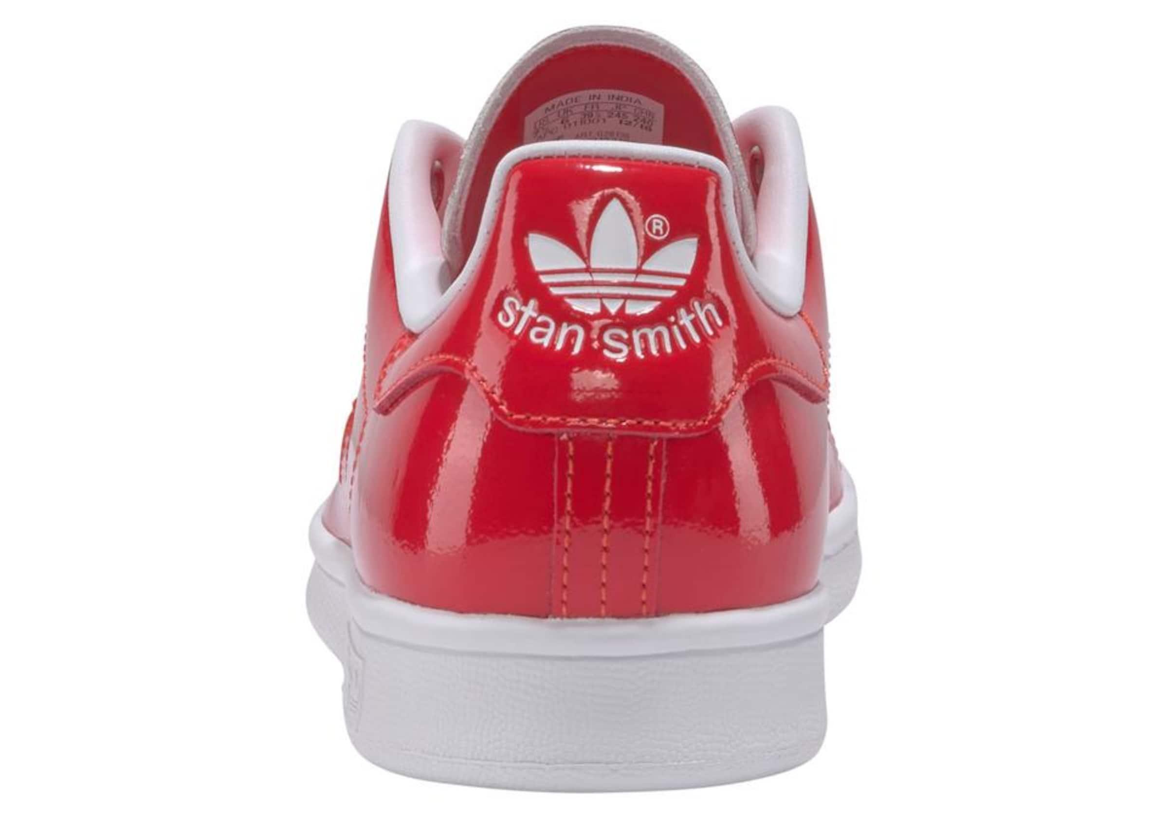 RotWeiß In Originals Smith' Sneaker Adidas 'stan 0mNOywPv8n