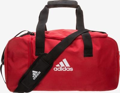ADIDAS PERFORMANCE Fußballtasche 'Tiro Duffel Small' in rot / schwarz / weiß, Produktansicht