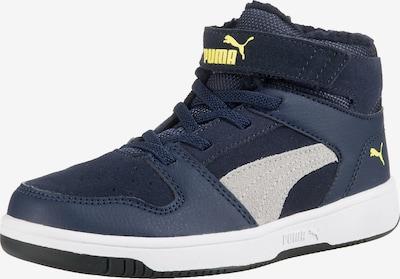 PUMA Sneakers 'Rebound Layup' in nachtblau / enzian / gelb / weiß, Produktansicht
