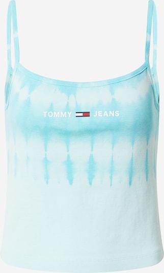 Tommy Jeans Top ' SUMMER' in navy / azur / aqua / rot / weiß, Produktansicht