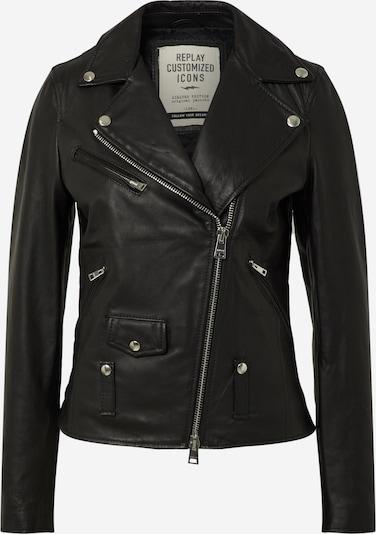REPLAY Jacke in schwarz / weiß, Produktansicht