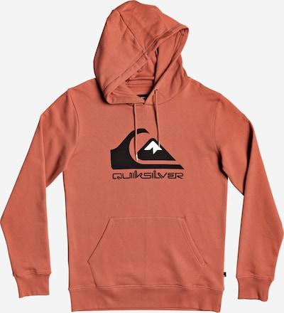 QUIKSILVER Sport-Sweatshirt in orange / schwarz, Produktansicht