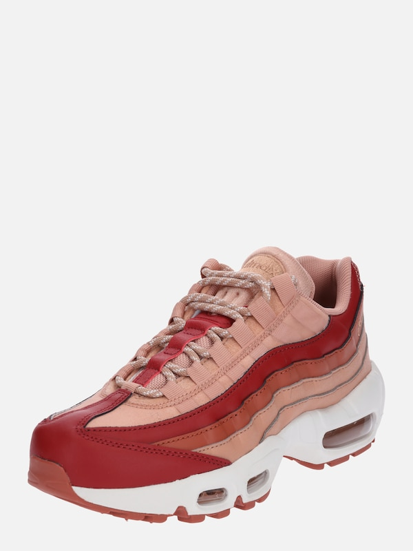 air max nike sportswear sneakersy niskie koralowy