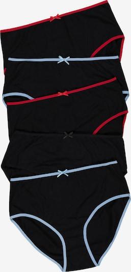 Ulla Popken Slips 5er-Pack in schwarz, Produktansicht