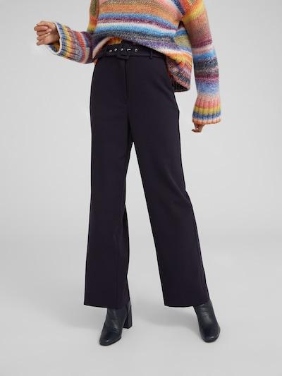 EDITED Spodnie 'Elona' w kolorze granatowym, Podgląd na modelu(-ce)