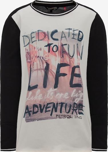 Petrol Industries Shirt in de kleur Gemengde kleuren / Zwart, Productweergave
