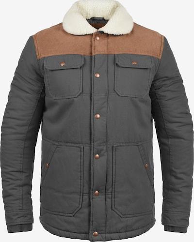 !Solid Winterjacke 'Ferdinand' in beige / braun / grau / dunkelgrau, Produktansicht