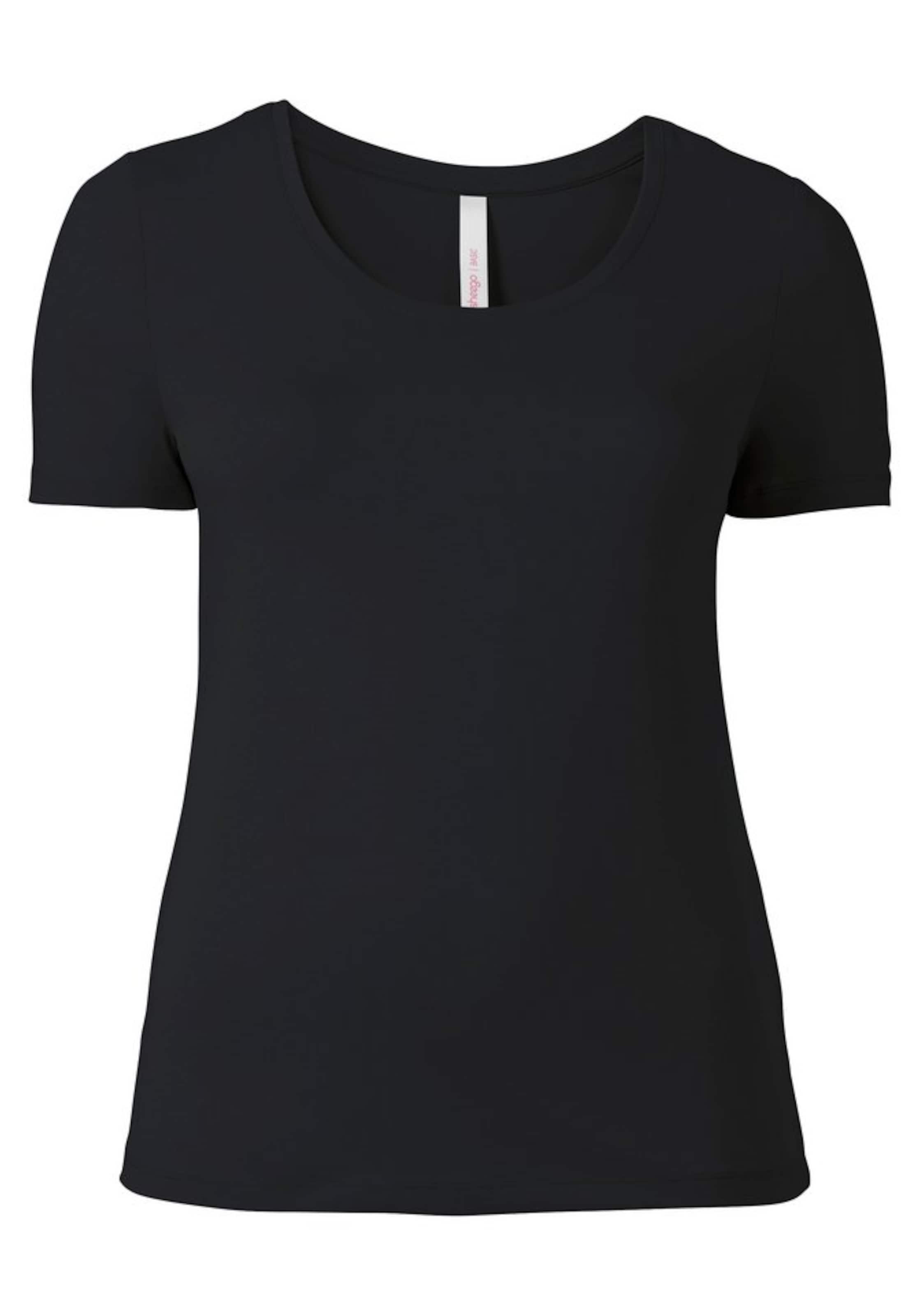 Sheego Sheego Sheego In shirt In T Schwarz Schwarz shirt T RqAL354j