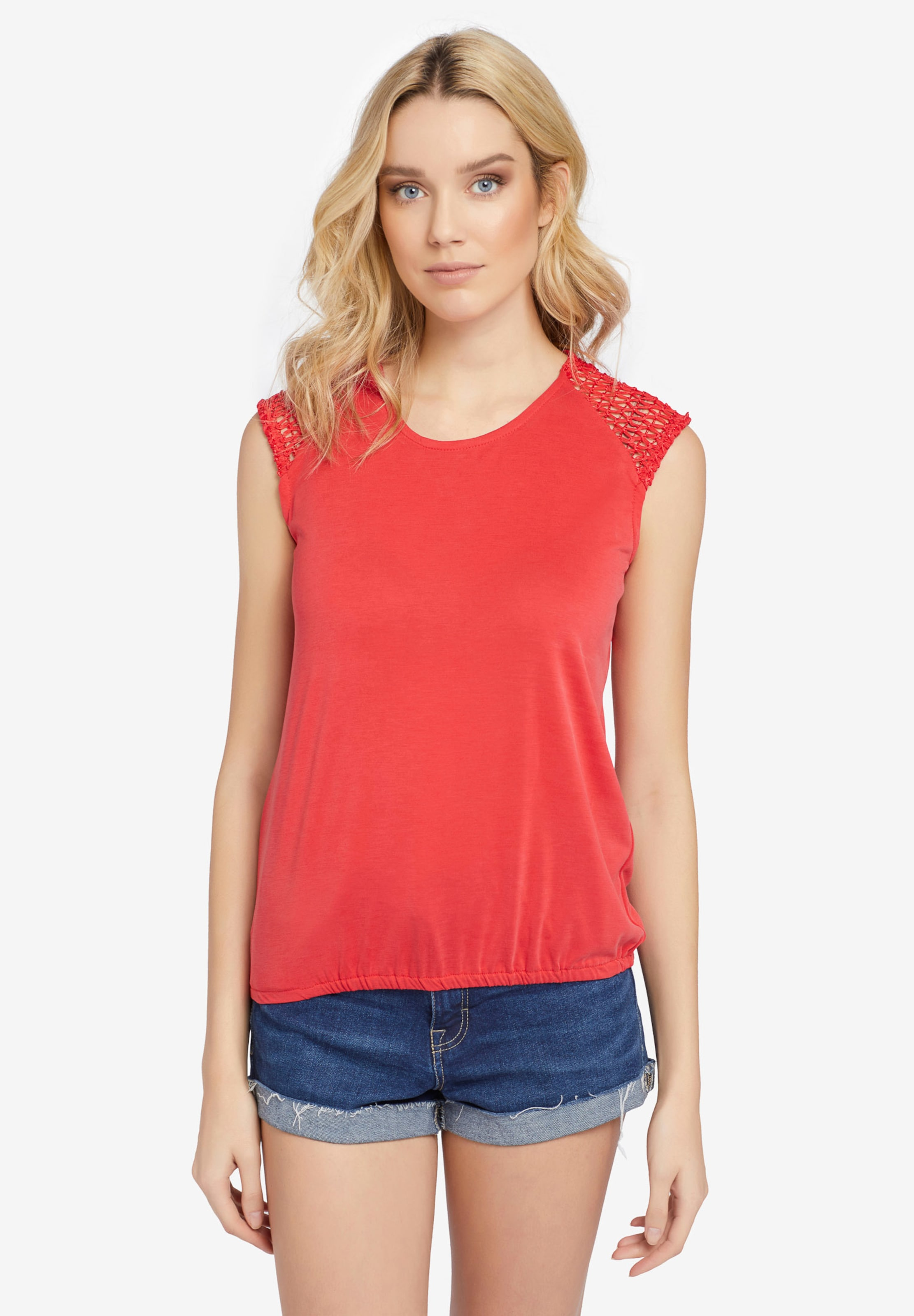 Khujo T En shirt Rouge 'marby' RqAjL354Sc