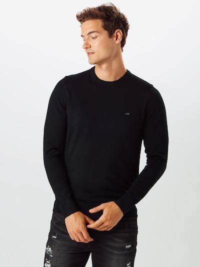 Calvin Klein Sweter w kolorze czarnym: Widok z przodu