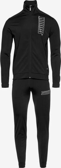 PUMA Trainingsanzug in schwarz, Produktansicht