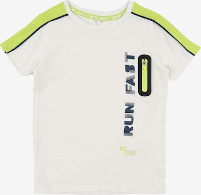 NAME IT Shirt in blau / apfel / schwarz / weiß, Produktansicht