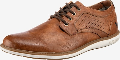 MUSTANG Šněrovací boty - hnědá, Produkt