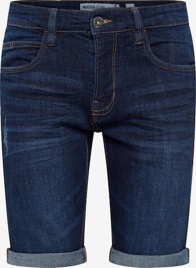 Jeans 'Kaden' INDICODE JEANS pe negru denim, Vizualizare produs