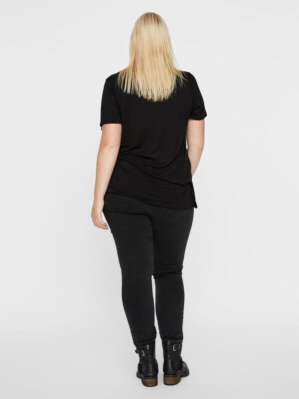 In Junarose Shirt T Wit shirt' RoodZwart 'jrlykke Ss jLAR543