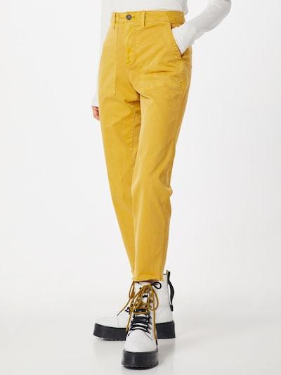 Kelnės 'GIRLFRIEND CHINO UTILITY FRAY' iš GAP , spalva - citrinos spalva: Vaizdas iš priekio