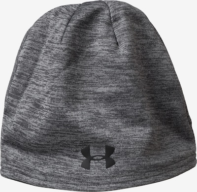 UNDER ARMOUR Beanie in grau / schwarz, Produktansicht