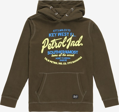 Petrol Industries Sweatshirt in khaki, Produktansicht