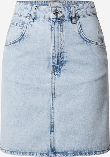 Gina Tricot Rok 'Mom denim skirt' in de kleur Lichtblauw, Productweergave