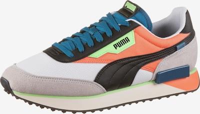 PUMA Sneaker in blau / hellorange / schwarz / weiß, Produktansicht