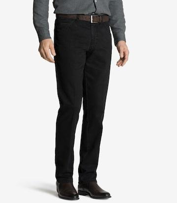 Meyer Hosen Jeans 'Chicago' in Schwarz