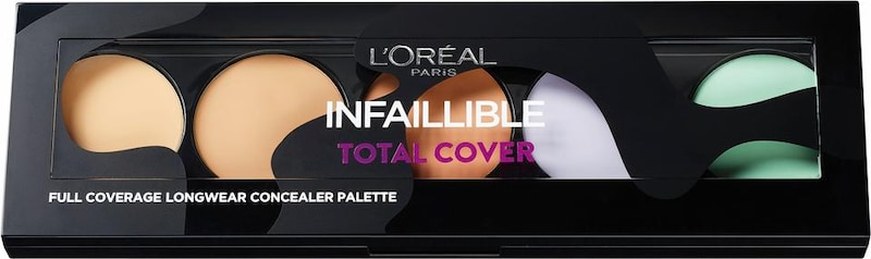 L'Oréal Paris 'Infaillible Total Cover Palette', Concealer