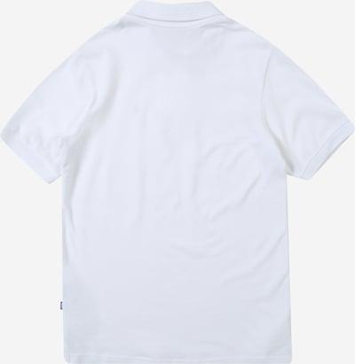 Jack & Jones Junior Poloshirt 'BASIC' in weiß: Rückansicht
