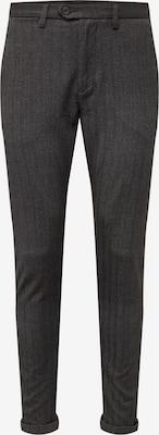Pantalon chino 'JJIMARCO JJCONNOR AKM 769 HERRING NOOS' - JACK & JONES en gris foncé