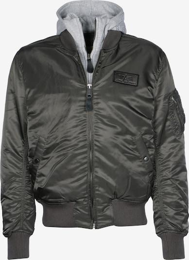 ALPHA INDUSTRIES Zimska jakna 'MA-1 D-Tec' | temno siva / pegasto siva barva, Prikaz izdelka