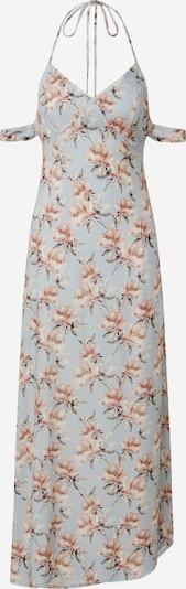 NA-KD Jurk 'strap tie back dress' in de kleur Lichtblauw / Rosa, Productweergave