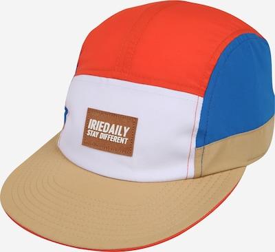 Iriedaily Čiapka 'Prime Sports' - béžová / modré / červené / biela, Produkt