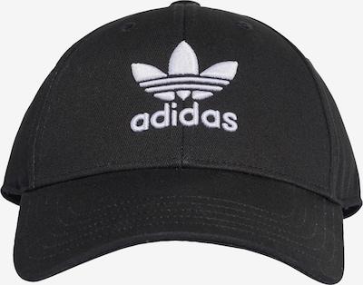 ADIDAS ORIGINALS Cap 'Trefoil' in schwarz / weiß, Produktansicht