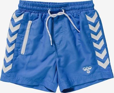 Hummel Boardshorts in blau / weiß, Produktansicht