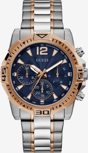 GUESS Uhr 'Commander, GW0056G5' in blau / rosegold / silber, Produktansicht