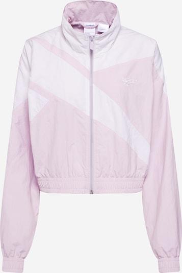 Reebok Classic Jacke in rosa / weiß, Produktansicht