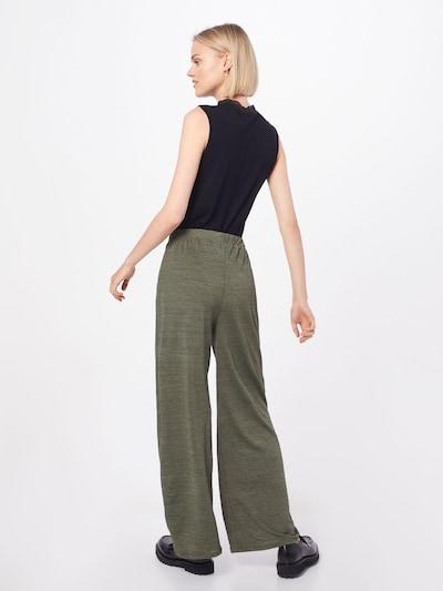 Kelnės 'Maxie Trousers' iš ABOUT YOU , spalva - rusvai žalia: Vaizdas iš galinės pusės