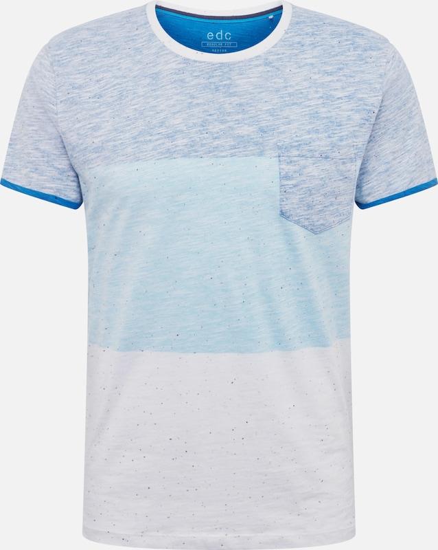 Edc By Clair Bleu T En shirt Esprit k8ONnZ0PXw