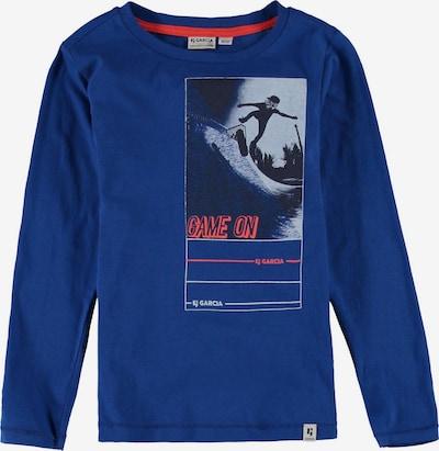 GARCIA Shirt in blau / mischfarben, Produktansicht
