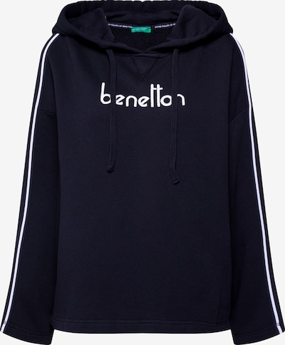 UNITED COLORS OF BENETTON Pullover in schwarz, Produktansicht