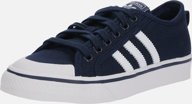 'nizza' Baskets Adidas Bleu Originals MarineBlanc En Basses OTZklXuwPi