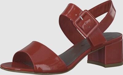 TAMARIS Sandaal in Rood