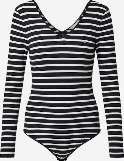 TOMMY HILFIGER Shirt body 'Celia' in de kleur Donkerblauw / Wit, Productweergave