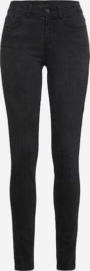 VILA Jeans in black denim: Frontalansicht