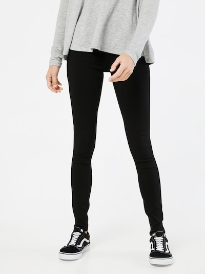fekete PIECES Jeggings 'HIGHSKIN WEAR', Modell nézet