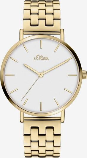 s.Oliver Uhr '3967-MQ' in gold, Produktansicht