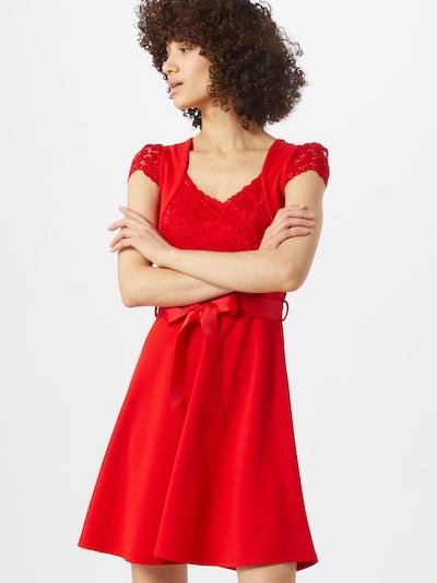 Morgan Kleid in feuerrot, Modelansicht