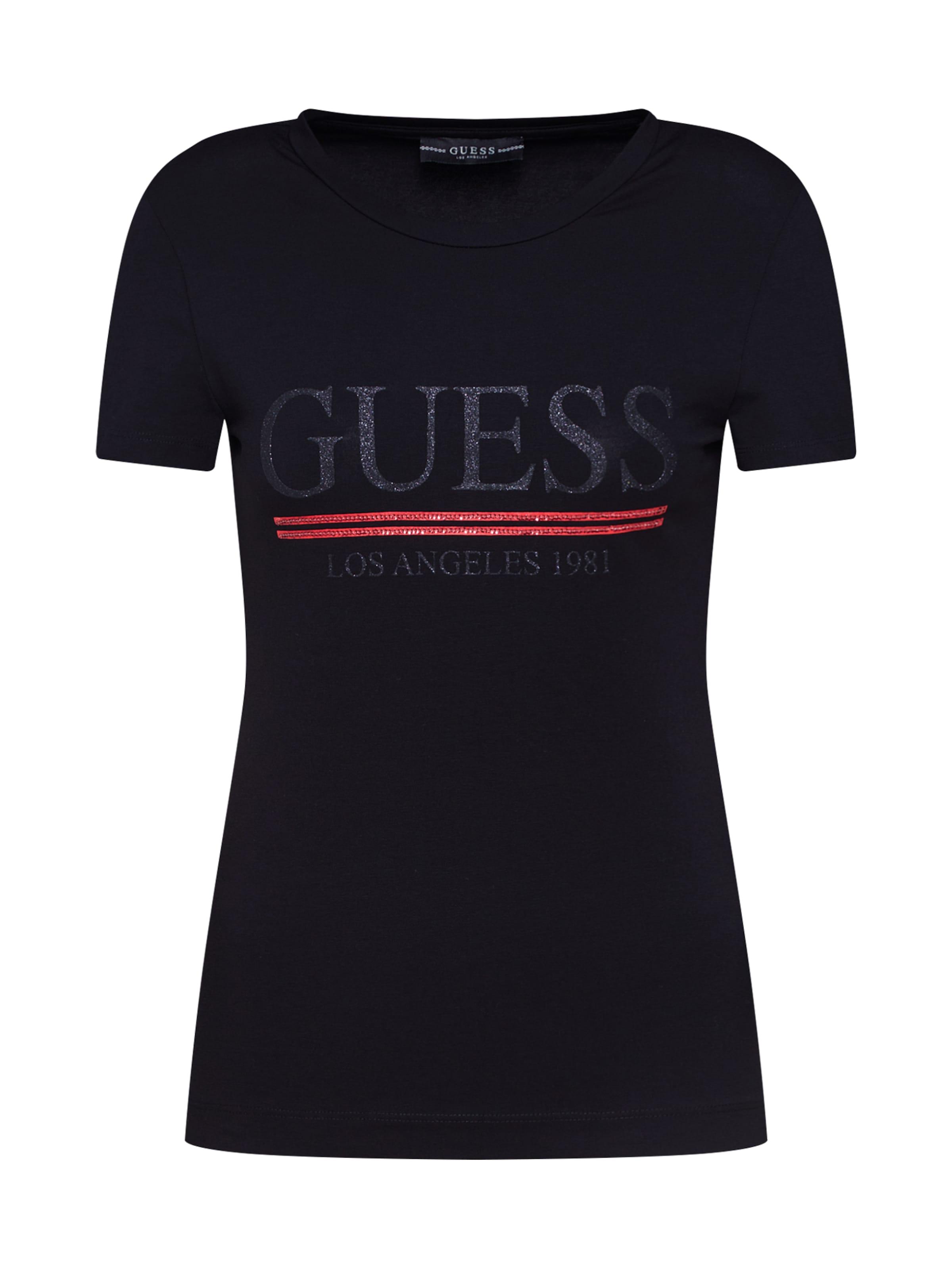 Guess Noir T En Guess shirt Noir shirt Guess T En myYf6gIb7v