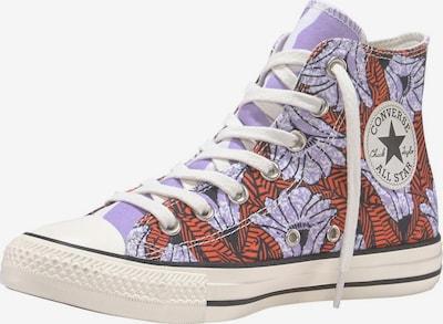 CONVERSE Sneaker 'Chuck Taylor All Star Hi Twisted Summer' in helllila / orange / weiß, Produktansicht